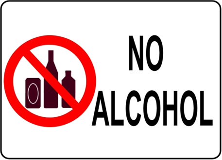 Alcohol is forbidden in Maldives too