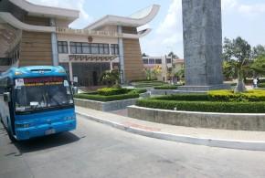 Atravessando a fronteira terrestre do Vietnã para o Camboja (quase) sem preocupações